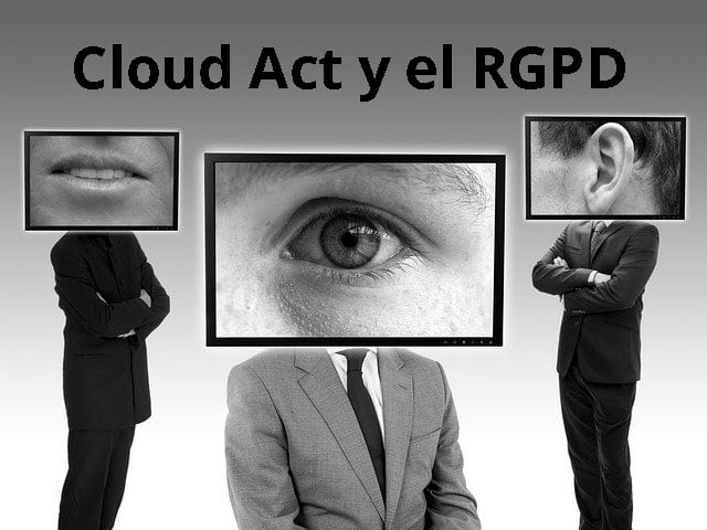 US Clarifying Lawful Overseas Use of Data Act y RGPD